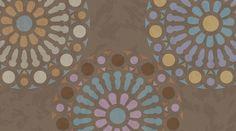 Stencil Rosetón/Mandala para decorar paredes y muebles de www.todostencil.com