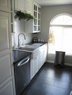 Small Cool Kitchens 2012: The Winner! Apartment Therapy.  Love the tiles in this