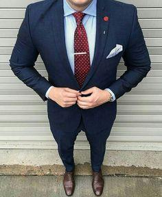 The Blue Suit Collection MontrellDemet Mens Fashion Suits, Mens Suits, Men's Fashion, Mens Attire, Suit Combinations, Blue Suit Men, Blue Suits, Mode Costume, Designer Suits For Men