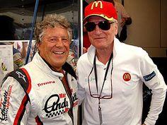 Mario Andretti & Paul Newman