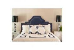 MasterBed headboard and bedding!