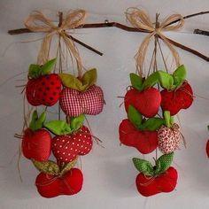 Inspiração maçãs   Lindo!!  #fashion #style #art #love #gifts #shopping #1 #zulilyfinds #arte #artesanato #reciclar #reciclagem #decor #façavocêmesmo   #artecomquiane