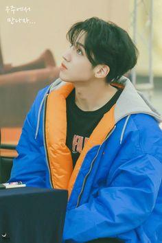i will wait here Gwangju, K Pop, Pentagon Wooseok, How To Speak Korean, E Dawn, Jung Woo, Cube Entertainment, Kpop Groups, K Idols