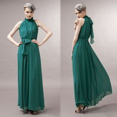 New Fashion Ladies Elegant Sexy Off Shoulder Chiffon Maxi Long Dress