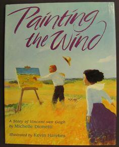 Van Gogh book for Elementary Art.