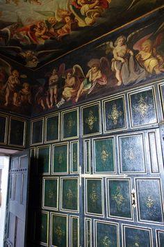 The Heaven Room. Bolsover Castle, Derbyshire