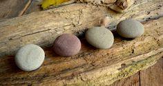 Rock Magnet / Stone Magnet / Beach Stone Magnet / by BarnWoodArt