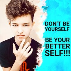 Don't be yourself, be your better self 👌 Marketing Consultant, Best Self, Social Media Marketing