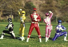 Attention, '90s Kids: Mighty Morphin Power Rangers Is Getting a Reboot @Julianne M. Roper @Stephanie Close Krause @Erin B Krause shall we morph again?!