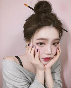 #bemy1ininstagram Korean Makeup, Korean Beauty, Asian Beauty, Asian Model Girl, Asian Girl, Beautiful Girl Wallpaper, Uzzlang Girl, Girl Poses, Pretty Woman