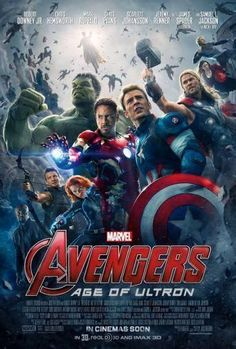 Avengers Age Of Ultron Movie Poster Standup 4inx6in
