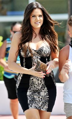 Khloe Kardashian on October 10, 2012 in Miami, Florida.