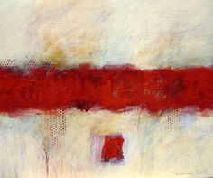 red abstract paintings - Buscar con Google