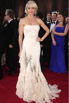Cameron Diaz - Red Carpet Wedding Style - Weddings - Marie Claire - Marie Claire UK