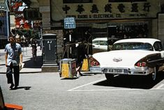 1959 Junction of Nathan and Austin Roads History Of Hong Kong, China Hong Kong, Macau, Street View, Nostalgia, Architecture, City, Places, Pictures