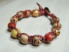 Wood Macrame Bodhi Bracelet Mini Tutorial