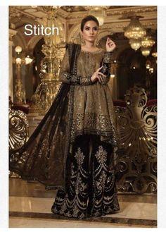 Amazing Maria B Chiffon Collection Master Replica 2020 - Master Replica Wholesale Pakistani Formal Dresses, Formal Dresses For Weddings, Pakistani Outfits, Indian Dresses, Formal Wedding, Luxury Wedding, Pakistani Designer Clothes, Pakistani Dress Design, Designer Dresses
