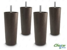 Choice Parts - 5 Inch Dark Walnut Plastic Tapered Sofa Legs, Set of 4 - Satisfaction Guaranteed - Products Lists of Tools and Hardware Metal Furniture Legs, Metal Table Legs, Furniture Decor, Dining Furniture, Office Furniture, Furniture Design, Walnut Finish, Couch And Chair Set, Gardens