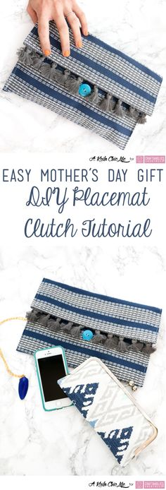 Crafts make fabulous Mom's day gifts! Use this pattern and tutorial to make a personal gift!