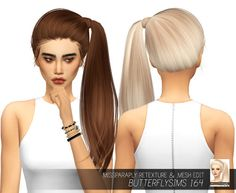 MISSPARAPLY   [TS4] Butterflysims 164 retexture and mesh edit:...
