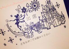 貰ってうれしい!可愛すぎるディズニーデザインの招待状返信アートにびっくり♡