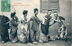 dancing women in Hanoi Travel Abroad, Hanoi, Southeast Asia, Vintage Photos, Vietnam, Coast, Africa, Japanese, Dancing