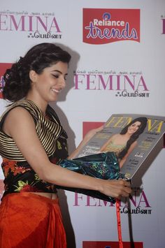 Isha Talwar in Spicy Sleeveless Top at Femina Tamil August 2014 Launch In Chennai