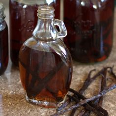Barefeet In The Kitchen: How To Make Homemade Vanilla Extract and Vanilla Sugar [ Borsarifoods.com ] #tips #kitchen #spice #flavor #food