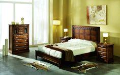 idea decoración dormitorio rustico moderno