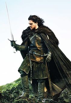 Kit Harington as Jon Snow for Game of Thrones, season four.