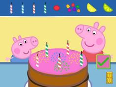Peppa Pig's Party Time - a set of party themed activities and mini-games featuring Peppa and her friends for iPhone & iPad. Original Appysmarts score: 88/100