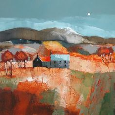 Autumn Tints ~ Scottish artist Dugald Findlay