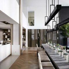 The Kitchen #moderndesign #interiordesign #diningroomdesign luxury homes, modern interior design, interior design inspiration . Visitwww.memoir.pt