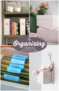 Exceptionnel 9 Organizing Ideas! Declutter Your Home, Organizing Your Home, Organizing  Ideas, Organize