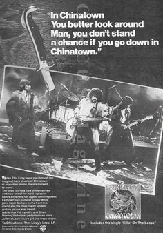 October 10, 1980:  Thin Lizzy released their Chinatown album.  two promo videos  Chinatown promo video in 720pHD https://youtu.be/maKw7MKbBP4 ******************* Killer On The Loose promo video in 480p https://youtu.be/2QTtXqDjNP4 ******************* #ThinLizzy #Chinatown  Is Killer On The Loose the best song from this record?
