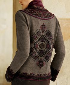 Fair isle inspiration - NO PATTERN