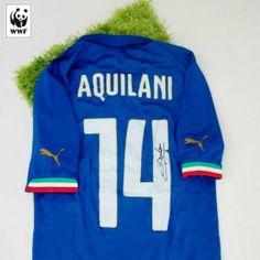 Aggiudicati la maglia ufficiale di Alberto Aquilani partecipando all'asta Charitystars WWF Italia http://www.charitystars.com/product/maglia-aquilani-italia-ufficiale-authentic-autografata-brasile-2014-celebriamolamaglia-vivoazzurro Ci aiuterai a salvare l'Amazzonia e anche tu potrai dire #iotifoAmazzonia