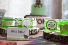 Lime Jello at this Creepy, Crawly Party! #partyfood #kidsparty