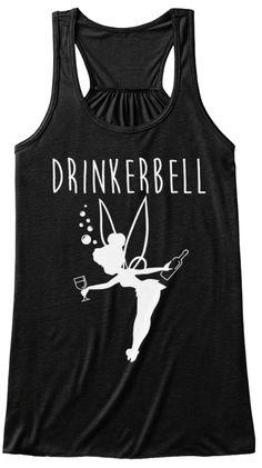 Drinker Bell Black T-Shirt Front - Shenanigans Shirt - Ideas of Shenanigans Shirt - Drinker Bell Black T-Shirt Front Disney Cruise, Disney Vacations, Disney Trips, Disney 2017, Tsumtsum, Drinking Shirts, Disney Outfits, Disney Costumes, Disney Fashion