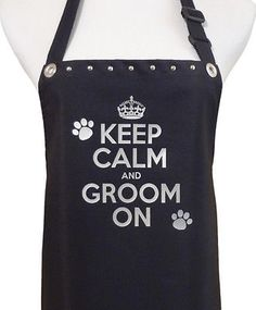 Grooming apron, waterproof this one actually looks WIDE enough at the top to be practical!!