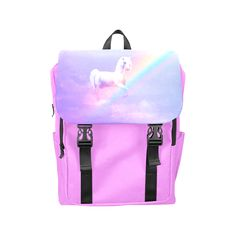 Unicorn and Rainbow Casual Shoulders Backpack. FREE Shipping. FREE Returns. #lbackpacks #unicorn