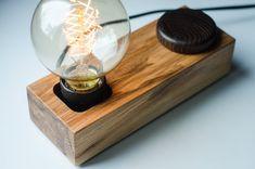 edison DIMMER lamp BLOCK33 handmade. ecofriendly. dimmer by dtchss