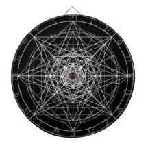 Third Dimensional Sacred Geometry #2 Dart Boards