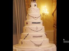 """30 million dollar cake by Cake Boss Buddy Valastro.  A socialite from Manhattan, Devorah was hosting a gala and wanted to serve her guests the most expensive cake ever made. The theme of the party was """"Anything is Possible,"""" and for her, it was possible to present a jaw-dropping cake covered in diamonds and precious jewels she owns worth 30 million dollars."""