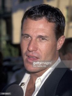 Actor Brad Johnson attends the Screening of the TNT Original Movie 'Rough Riders' on July 1997 at Academy Theatre in Beverly Hills, California. Get premium, high resolution news photos at Getty Images Brad Johnson, Hot Guys, Hot Men, Actor Photo, Handsome Actors, Original Movie, Country Singers, Hollywood Stars, Pretty Face