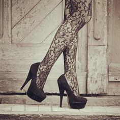 Tights, Shoes .. Love