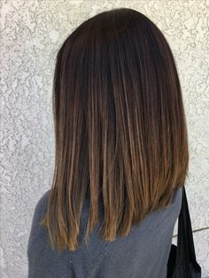 Frisuren Long bob cut Ombré Balayage Caramel tones Wireless Security Camera: For Dick Tracy And Ever Long Bob Hairstyles For Thick Hair, Choppy Bob Hairstyles, Long Bob Haircuts, Haircut For Thick Hair, Weave Hairstyles, Office Hairstyles, Anime Hairstyles, Stylish Hairstyles, Hairstyles Videos