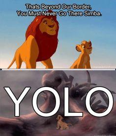 haha Lion King yolo