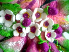 Hand Felted, Wool Jewelry felted SCARF Wrap Scarves appr.size is 105cm/17cm ♥ I can reserved items until pay day!!! ask me.