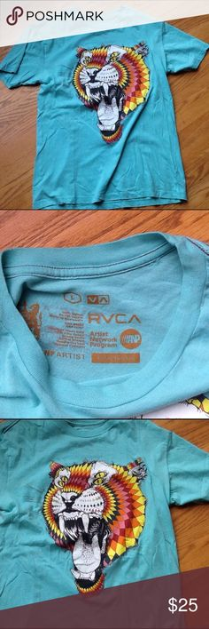 RVCA MENS T-SHIRT Worn a couple times. In like new condition. RVCA Shirts Tees - Short Sleeve